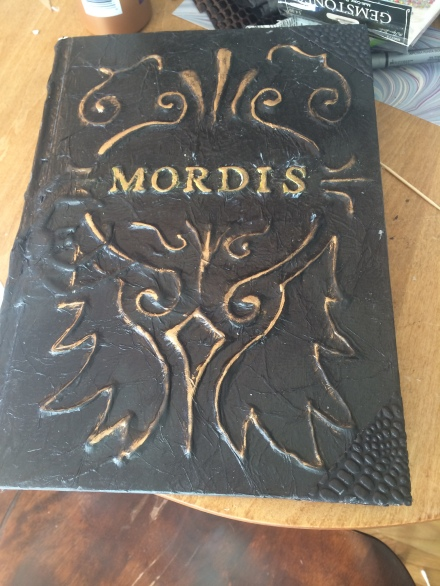 I never looked up Mordis to see if it meant anything. It sounded like a likely title for an occult how-to book.