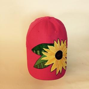 yellow flower hat 1